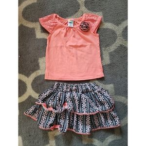 2 pc skirt set